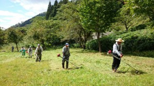 草刈ボランティア事業1